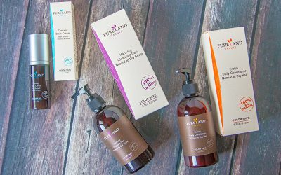 PURELAND BEAUTY 100% PLANT-BASED CHEMICAL-FREE HAIR CARE